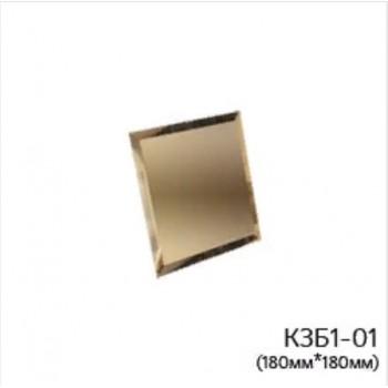 Квадратная бронзовая зеркальная плитка