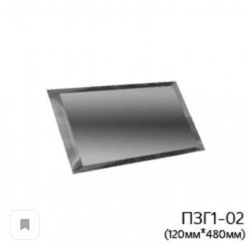 Прямоугольная графитовая зеркальная плитка