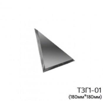 Треугольная графитовая зеркальная плитка