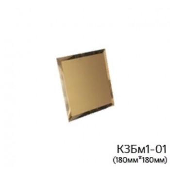 Квадратная матовая бронзовая зеркальная плитка