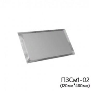 Прямоугольная матовая серебряная зеркальная плитка