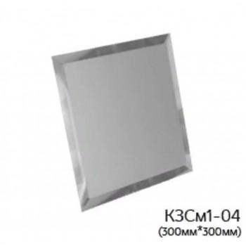 Квадратная матовая серебряная зеркальная плитка