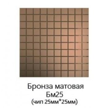 Зеркальная матовая мозаика