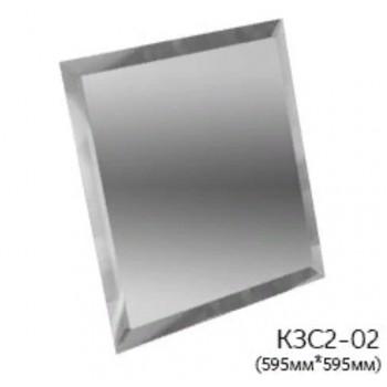 Серебряная зеркальная потолочная плитка