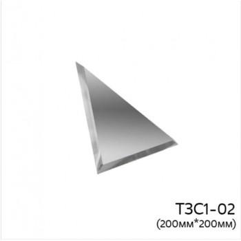 Треугольная зеркальная плитка