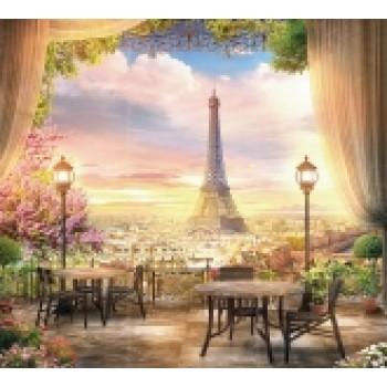 """Фотопанно """"Вечерний Париж"""""""