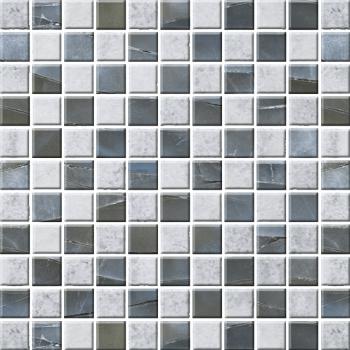 "Мозаика стеклянная ""Эко"" с чипом 25х25мм (273х273 мм)"