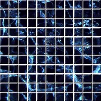 "Мозаика стеклянная ""Эко"" с чипом 25х25мм (300х300 мм)"