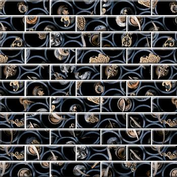 "Мозаика стеклянная ""Классика"" с чипом 84х25 м (300х300 мм)"