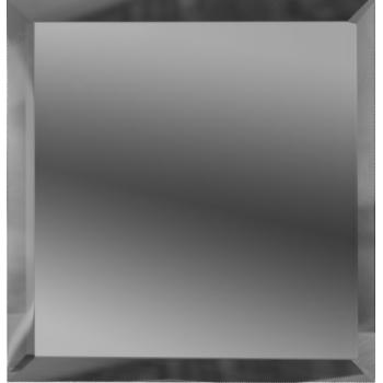 Квадратные зеркальные графитовые плитки с фацетом