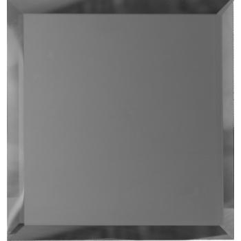 Квадратные зеркальные графитовые матовые плитки с фацетом