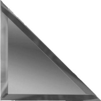 Треугольные зеркальные графитовые плитки с фацетом