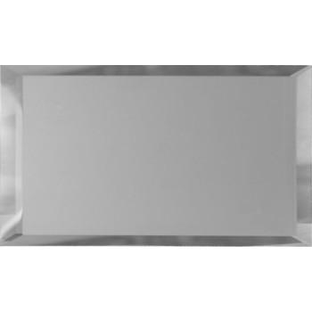 Прямоугольные зеркальные серебряные матовые плитки