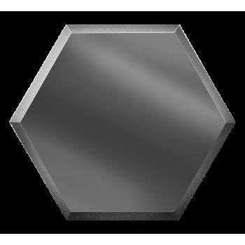 Зеркальная графитовая плитка сота с фацетом