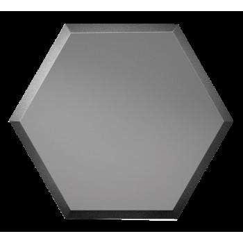 Зеркальная графитовая матовая плитка сота с фацетом