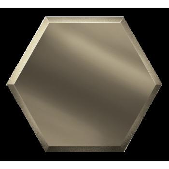 Зеркальна бронзовая плитка сота с фацетом