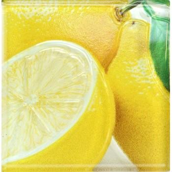Декор FRUITS 200*200 лимон