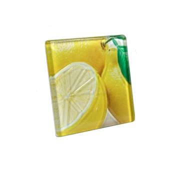 Декор FRUITS 100*100 лимон