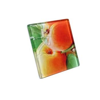 Декор FRUITS 100*100 персик