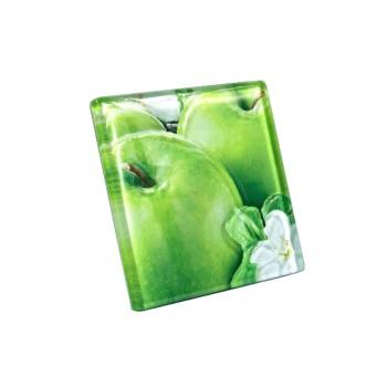 Декор FRUITS 100*100 яблоко