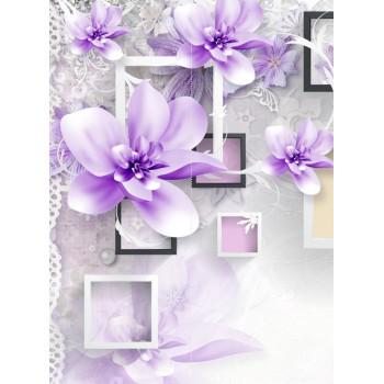 "Фотопанно ""Элегантные цветы"", 200х270см"