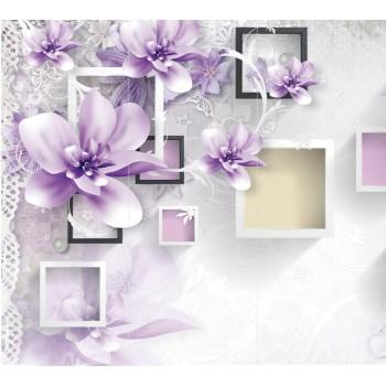 "Фотопанно ""Элегантные цветы"", 300х270см"