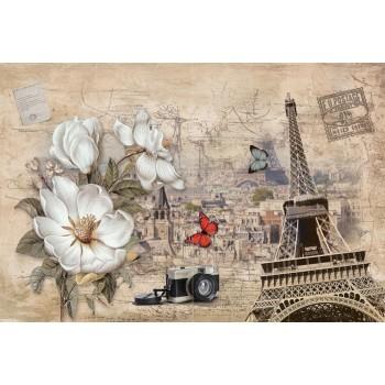 "Фотопанно ""Весточка из Парижа"", 400х270см"