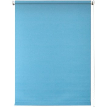 Рулонная штора Плайн голубой
