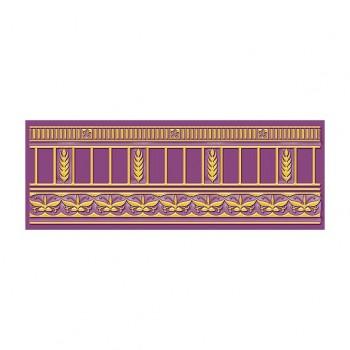 Бордюр Воспоминание фиолетовый