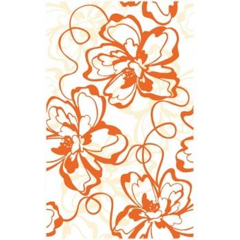 Вставка декоративная Монро оранжевый