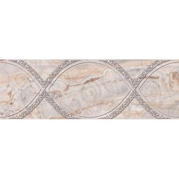 Вставка декоративная Лигурия коричневый