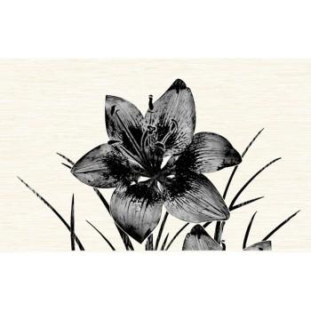 Вставка декоративная Пиано черный