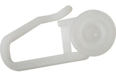 Крючок-ролик специальный для пластмассовой шины (уп. 20шт)