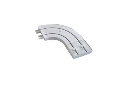 Боковина круглая пластиковая для двухрядной шины (уп. 2шт)