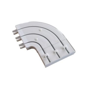Боковина круглая пластиковая для трехрядной шины (уп. 2шт)