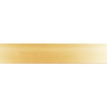 Бленда 50мм для пластмассового карниза, Золото (уп.4м)