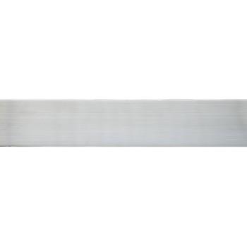 Бленда 50мм для пластмассового карниза, Серебро (уп.4м)