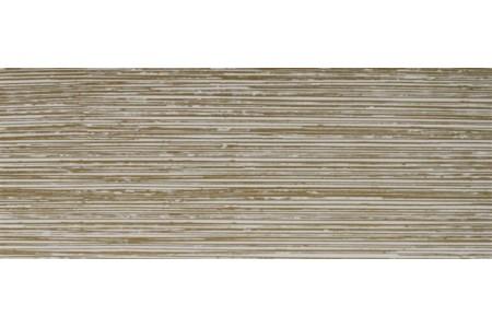 Бленда 50мм для пластмассового карниза, Белый/Золото, (уп. 3м)