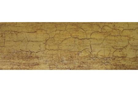 Бленда 50мм для карнизов Спарта, Кракелюр золото, (Рулон 50м)