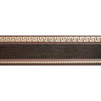 Бленда 68мм для пласт. карниза Тесей, Венге (уп.3.5м)