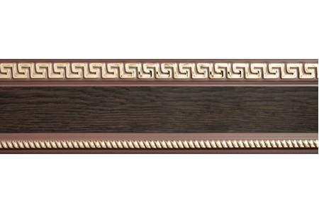 Бленда 68мм для карнизов Спарта Тесей, Венге (уп.25м)