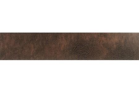 Бленда 50мм для карнизов Спарта, Шагрень темно-корич,(Рулон 25м)