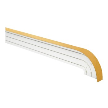 Карниз пластиковый в комплекте с блендой, золото