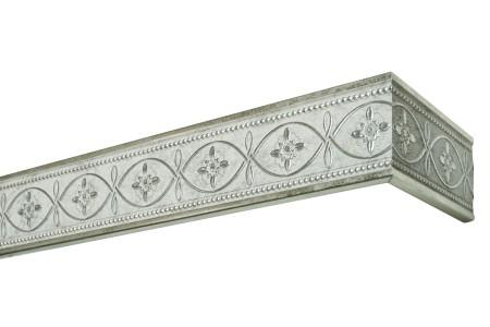"Планка 2019 ""Унисон"" античное серебро, с адаптером"