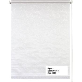 Рулонная штора Фрост белый