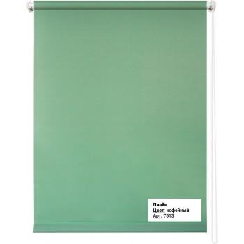 Рулонная штора Плайн светло-зеленый