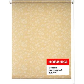 Рулонная штора Моравиа желтый