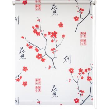 Рулонная штора Япония белый