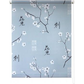 Рулонная штора Япония серый