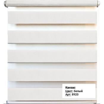 Рулонная штора Канзас белый